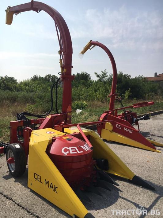 Други Силажо-комбайн Celmak 3 - Трактор БГ