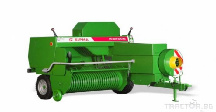 Сламопреси Sipma KOSTKA 4100 1 - Трактор БГ