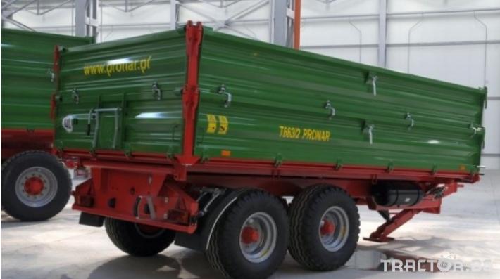 Ремаркета и цистерни PRONAR T663/1 1 - Трактор БГ
