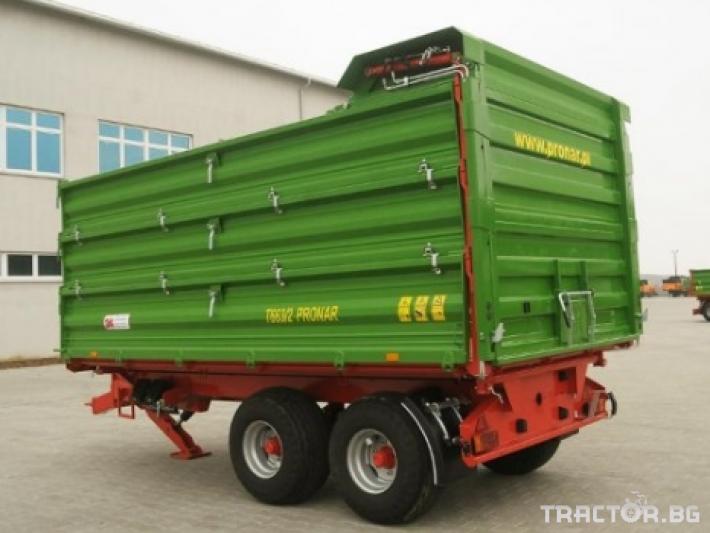 Ремаркета и цистерни PRONAR T663/1 3 - Трактор БГ