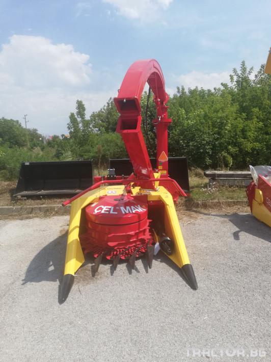 "Машини за ферми Силажокомбайн Celmak"", ""двуредов еднороторен 2 - Трактор БГ"