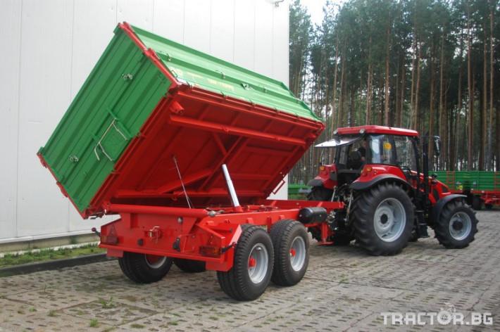 Ремаркета и цистерни PRONAR T663/1 2 - Трактор БГ