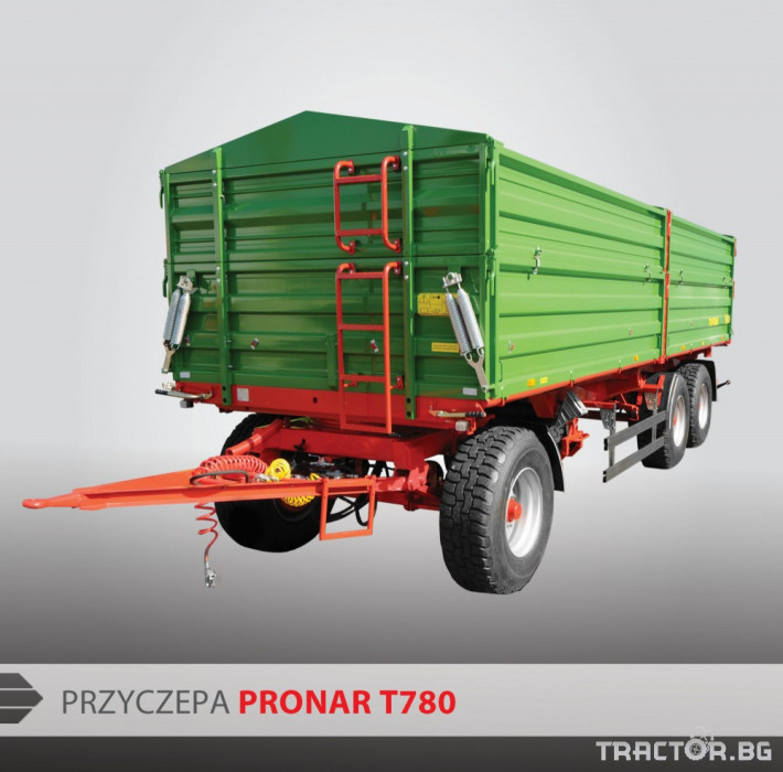 Ремаркета и цистерни Pronar T780 0 - Трактор БГ