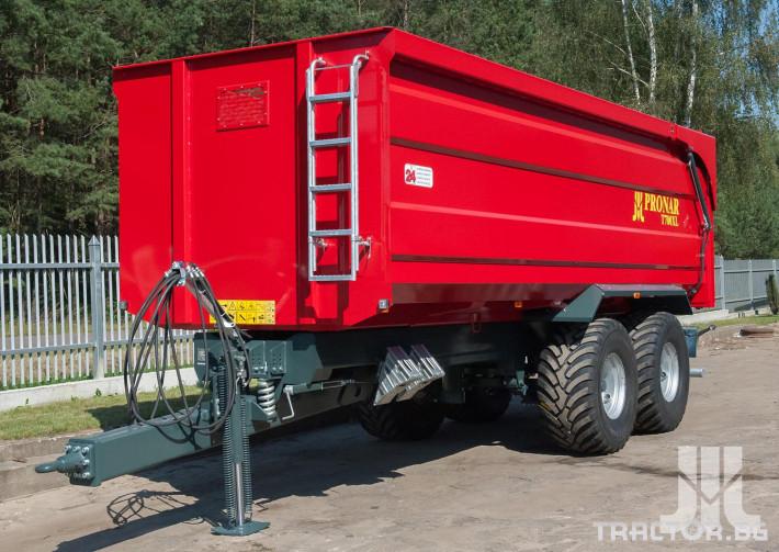 Ремаркета и цистерни Pronar T700XL 3 - Трактор БГ