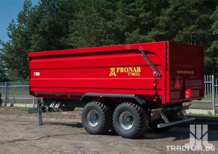 Ремаркета и цистерни Pronar T700XL 2 - Трактор БГ