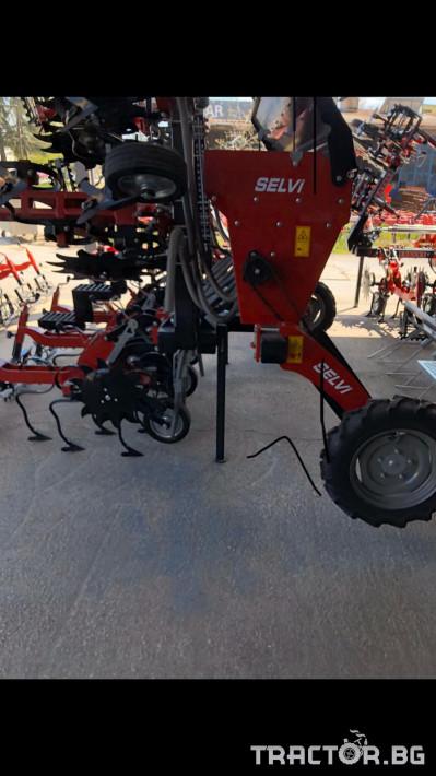 Култиватори Окопен култиватор SELVI, сгаваем с торовнасяне 2 - Трактор БГ