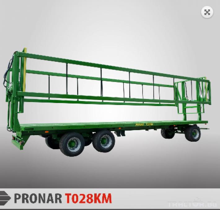 """Други Платформа  за рулонни бали """"Pronar"""" 5 - Трактор БГ"""